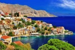 Zeilen in de Dodecanese eilanden