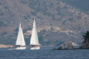 flottielje zeilen lefkas