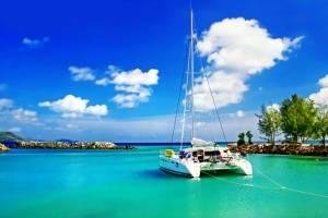 catamaran zeilen met schipper