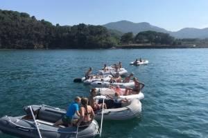 flottielje zeilen italie  dinghy