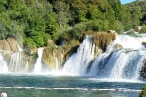 krk watervallen kroatie