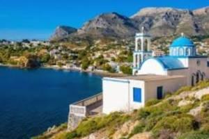 zeilen bij Kalymnos
