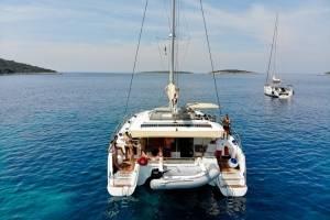 Catamaran zeilen Griekenland
