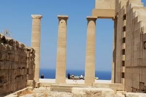 zeilvakantie Griekenland tempel
