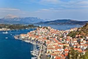 Flottielje zeilen Griekenland Poros