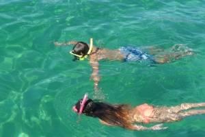 meezeilen snorkelen