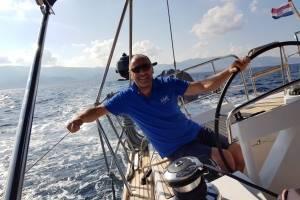 zeilen Kroatië met schipper