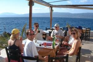 flottielje zeilen griekenland terass