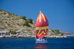 flottielje zeilen Kroatië - zeilboot
