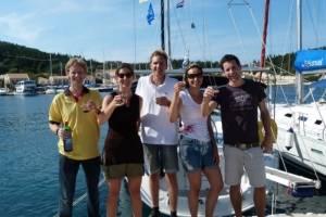 Flottielje-zeilen-Lefkas