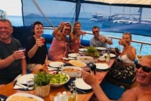 luxe-gulet-lekker-eten en drinken