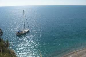 flottielje zeilen italie voor anker
