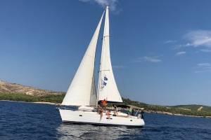 flottielje zeilen met tieners