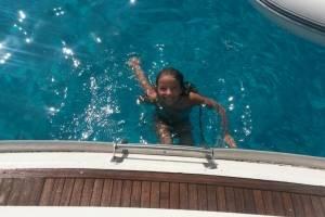 zeiljacht huren griekenland zwemmen