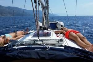 zeilen-Kroatië met schipper