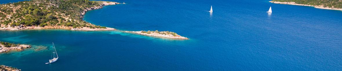 Flottielje Zeilen Griekenland.  Athene of Lefkas - Zeilnet