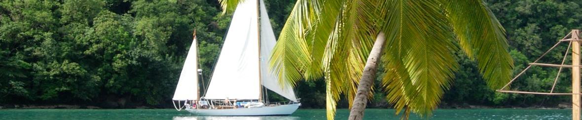 Voorbeeld 16-daagse Caribische zeilroute