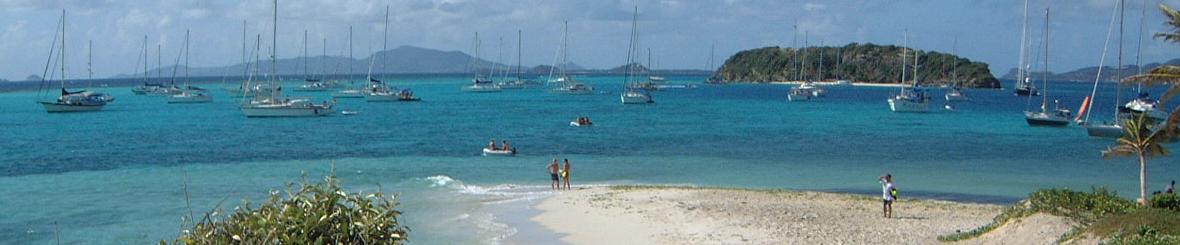 Voorbeeld  van een 15-daagse Caribische zeilroute, Martinique