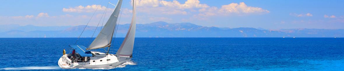 Flottielje Zeilen Corfu